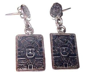 etsy, vintage earrings, and drop earrings image