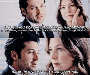 always, derek and meredith, and love image