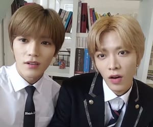 ty, yt, and taeyong image