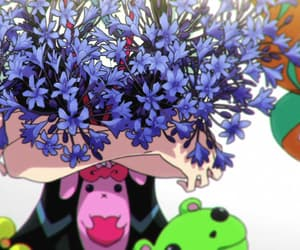 aesthetic, anime, and flores image