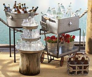 Bebidas, cooler, and party ideas image