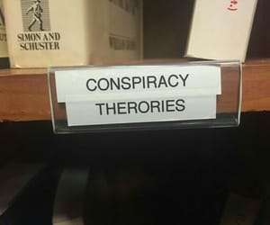 theories, books, and conspiracy image