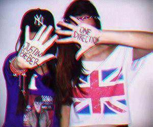 one direction, justin bieber, and belieber image