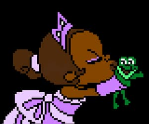 pixel, tiana, and disney image