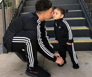 baby, family, and adidas image