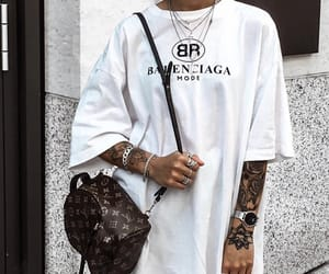 outfit and Balenciaga image