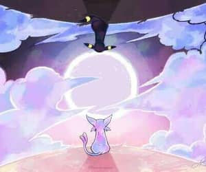pokemon, espeon, and umbreon image