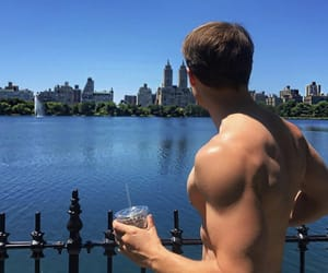 Central Park, Hot, and hot man image