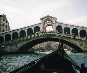 venice, bridge, and italy image