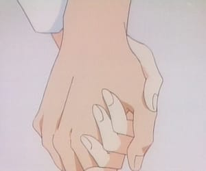 aesthetic, hands, and anime image