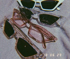 sunglasses, glasses, and aesthetic image