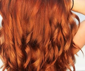 girl, nice, and red hair image
