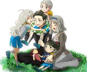 anime, anime girl, and flower image