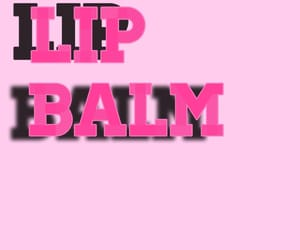 3d, pink, and lip balm image
