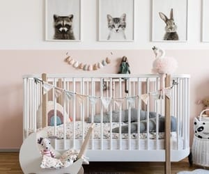 baby, baby room, and bed image