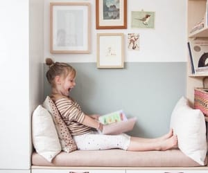 baby, books, and love image