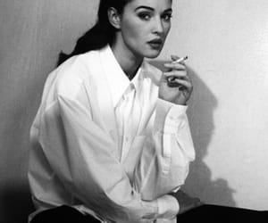 monica bellucci, black and white, and beauty image