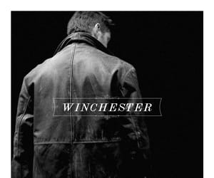 dean winchester, black and white, and Jensen Ackles image