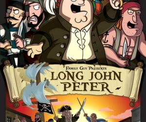 family guy, peter, and long john peter image