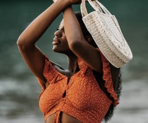African, black woman, and body image