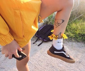 flowers, tattoo, and tumblr image