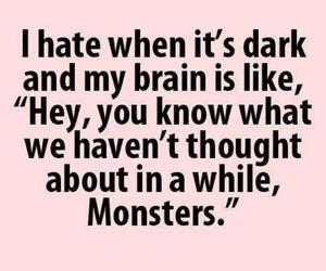monster, funny, and dark image