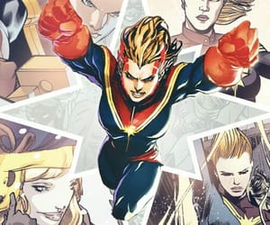 Marvel and captain marvel image
