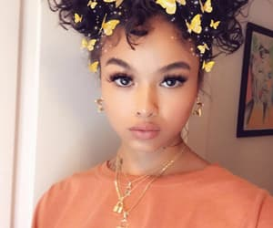 india love, model, and curly hair image