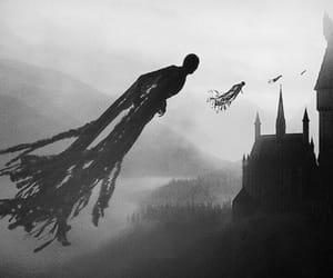 harry potter, hogwarts, and dementor image