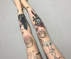 grunge, indie, and tattoo image