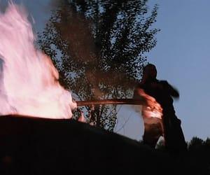 car, fire, and joseph image