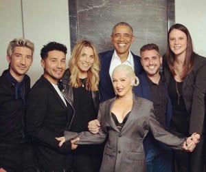 barack obama, team, and xtina image