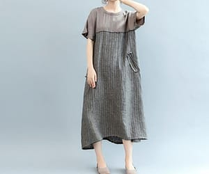 etsy, gray dress, and party dress image