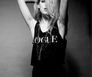 vogue, model, and fashion image