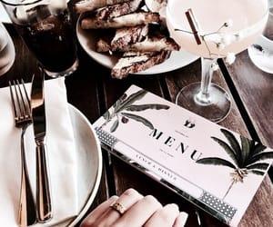 beauty, menu, and food image