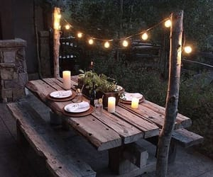 light, garden, and decoration image