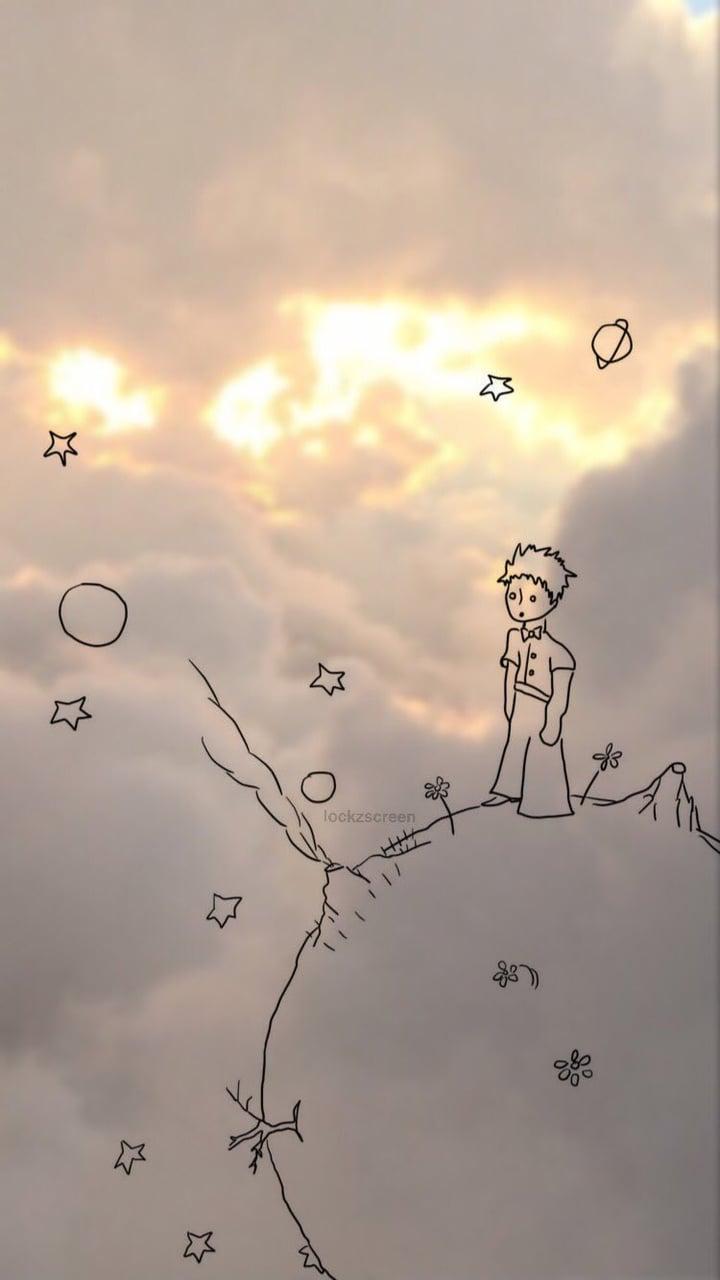 Lockscreen Wallpaper The Little Prince On We Heart It