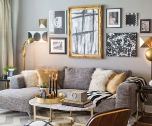 living room, decor, and decoration image