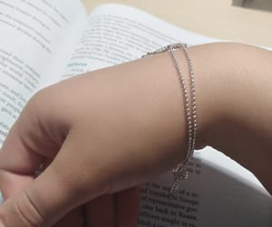 book, chain, and chic image