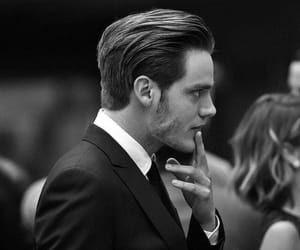 black and white, handsome, and dominic sherwood image