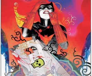 batgirl, batman, and dc comics image