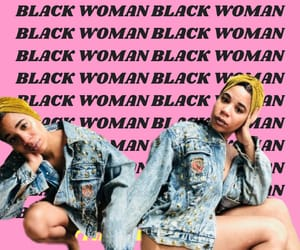 black woman, culture, and style image