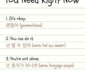korean, phrases, and language image
