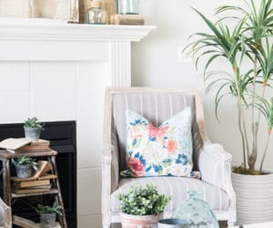 armchairs, decor, and decorating image