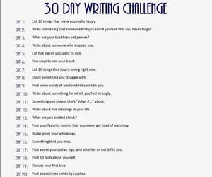 challenge, writing, and article image
