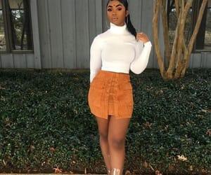 aesthetic, skirt, and bralette image