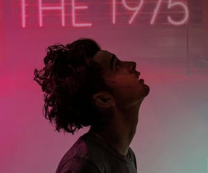 band, the1975, and pink image