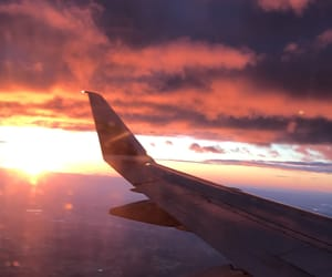 aesthetic, golden light, and travel image