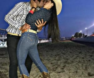 cowboy, couple, and Cowgirl image