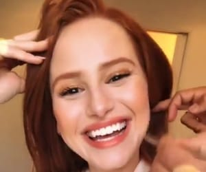 smile, madelaine petsch, and riverdale image